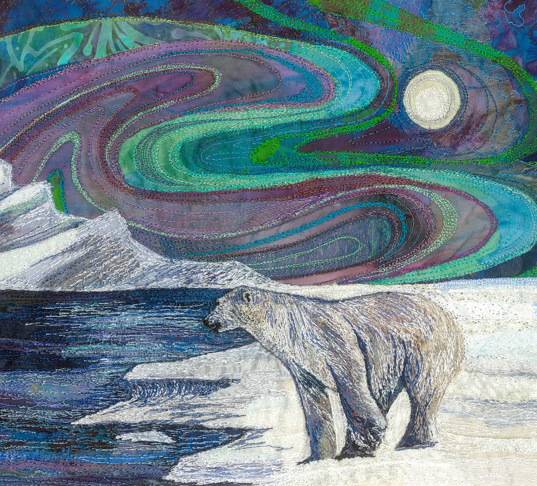 Nanook King Of The Ice Rachel Wright Textile Artist