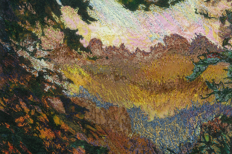 A Glimpse through the Trees detail