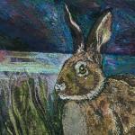 Crouching Hare detail