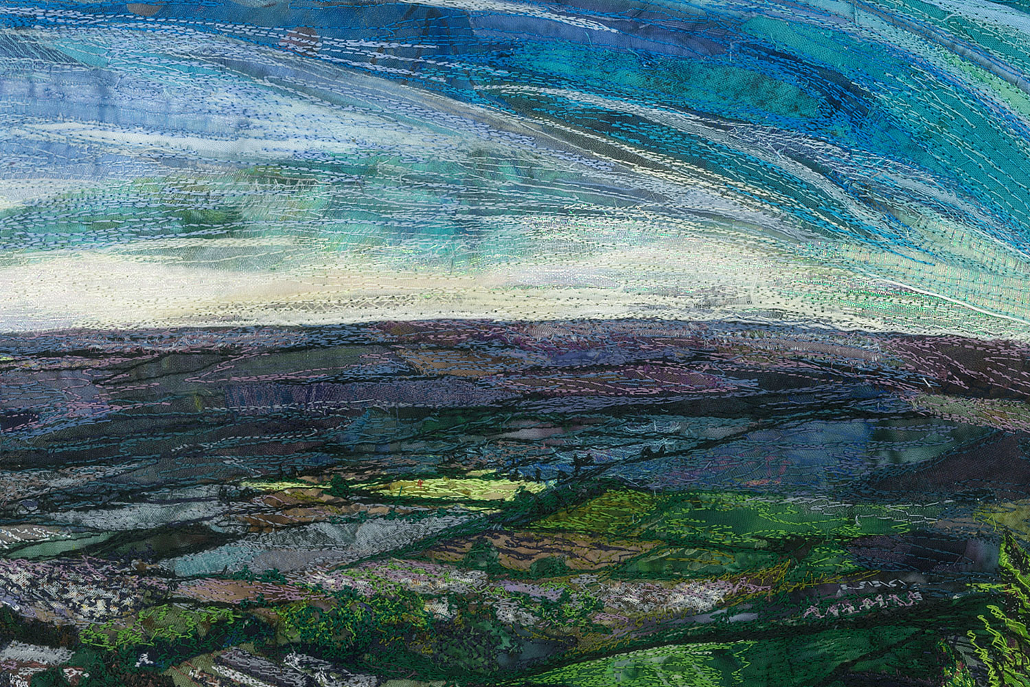View from Chinnor Hill detail
